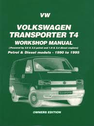 volkswagen eurovan manuals at com 90 95 volkswagen vw eurovan t4 transporter van shop service repair manual 4 cylinder 5 cylinder gas 2 0 2 5 diesel 1 9 2 4 217 pages by russek