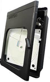 Barton Single Pen Pressure Recorder 6000 Psi Model 242e