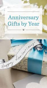 Marriage Gift Chart Anniversary Gifts By Year Hallmark Ideas Inspiration