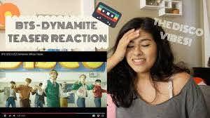 BTS (방탄소년단) - Dynamite Teaser Reaction! - YouTube
