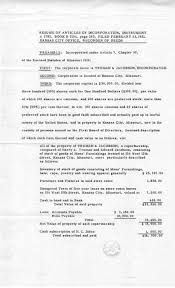 Library Resume Truman Library Resume Of Articles Of Incorporation February 24 18