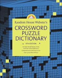 random house webster s crossword puzzle dictionary 4th edition stephen elliott 9780375721311 amazon books