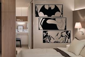 huge dc comics justice league wall art stickers by hallofheroes