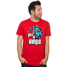JINX : Minecraft Like a Boss Premium Tee