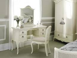 The Image Above Shows A Willis And Gambier Ivory Birch Dressing Table, Arch  Top Dressing Table Mirror, Upholstered Bedroom Chair, Double Wardrobe With  Low ...