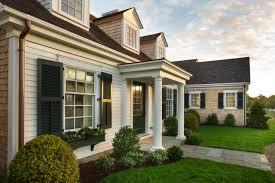Cape Cod Home Covered Portico Hgtv Dream Front - Home Plans ...