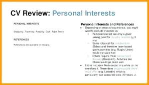Interests On Resume Enchanting List Of Common Hobbies And Interests Resume For Good Letsdeliverco