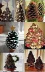 Сделать елку из шишки 179