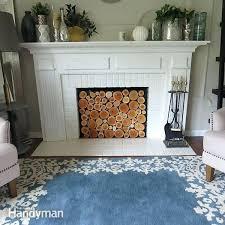 faux fireplace insert 2 diy fake fireplace insert