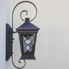spanish style wall lantern fixture outdoor exterior wall lighting