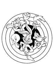 Looney Toons Coloring Pages Avusturyavizesiinfo