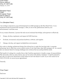 Professional Cover Letter Examples Template Free Download Speedy