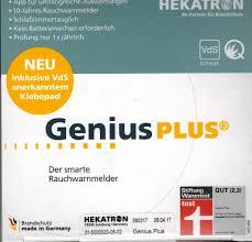Hekatron Genius Plus Kp Infos Technik Und Service Rund Um Das