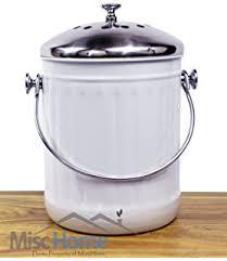hanging compost bin kitchen misc home indoor kitchen non stick stainless steel compost bin  gallon