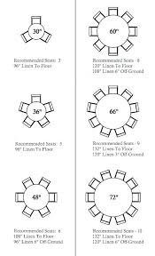 banquet table sizes always liked round tables this is a good seating guide to diffe standard