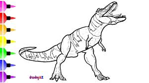 Small Picture Dinosaur Drawing and Coloring Pages for Kids How to Draw