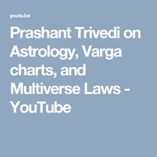 Prashant Trivedi On Astrology Varga Charts And Multiverse