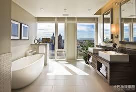 Large Bathroom Large Modern Minimalist Bathroom Decoration Effect Chart Modern
