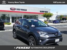 2018 Used Toyota RAV4 XLE AWD at Kearny Mesa Toyota Serving Kearny ...