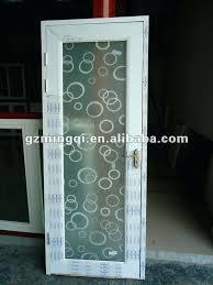 frosted glass bathroom door fancy doors white