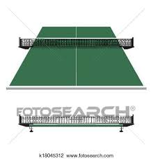ping pong table clip art. Interesting Ping Clipart  Table Tennis Ping Pong Net Fotosearch Search Clip Art  Illustration Inside Ping Pong Art A