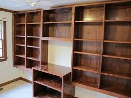 labels wooden bookshelves