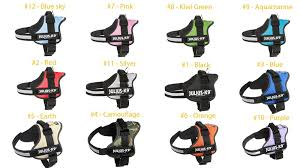 Julius K9 Power Harness Sizing Chart Julius K9 Harnesses Collars And Others K9harness Com