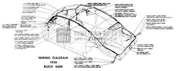 1950 buick special series wiring diagrams 1950 buick wiring diagram model 4408