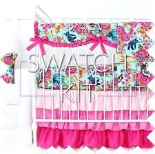 mermaid crib bedding sets marinas pink aqua baby swatch kit mermaid crib bedding sets baby