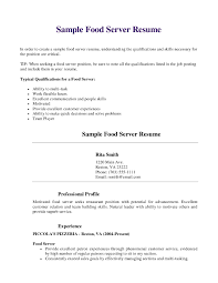 Best Example Of A Resume Impressive Food Service Worker Resume Awesome Page 48 Best Example Resumes 48