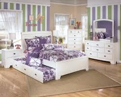 white girl bedroom furniture. Bedroom, Amusing Ashley Furniture Girl Beds Children\u0027s Bedroom Purple White Bed Wardrobe Mirror: E