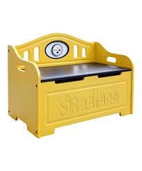 Steelers Bedroom Fan Creations Pittsburgh Steelers Storage Bench Zulily