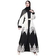 Turkish Abaya Design Tootu Women Elegant Abaya Dress Muslim Robe Turkish Hijab