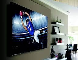 qualgear heavy duty fixed tv wall mount
