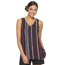 Womens Apt 9 V Neck Georgette Cami Products In 2019 V