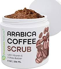 Coffee scrub is the trend all over the internet in treating cellulite. Amazon Com Arabica Coffee Exfoliating Body Face Scrub 100 Natural Organic Exfoliator With Sea Salt Olive Oil Shea Butter Exfoliate Moisturize Reduce Cellulite Office Products