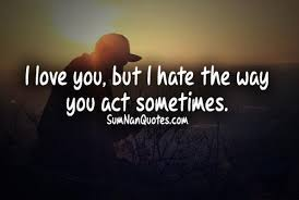 Love Hate Quotes Gorgeous I Love Hate Quotes Collection Of Inspiring Quotes Sayings Images