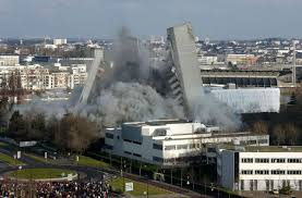 ايران - انهيار برج سكني في طهران وفقدان ثلاثين عنصر اطفاء