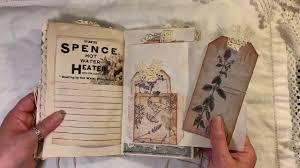 Natures Remedies vintage junk journal #junkjournal #vintagejournal - YouTube