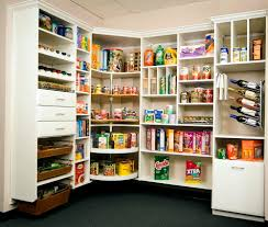 Corner Kitchen Pantry Walk In Kitchen Pantry Size Home Design Ideas