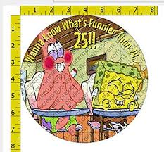 8 Spongebob Wanna Know Whats Funnier Than 24 Image Edible Frosting