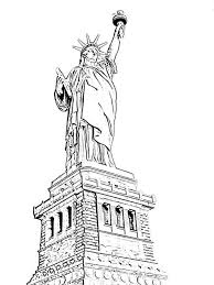 Small Picture The Beautiful Statue of Liberty Coloring Page ALLMADECINE Weddings