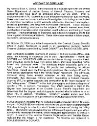 complete daniel cowart paul schlesselman affidavit daniel  complete daniel cowart paul schlesselman affidavit daniel cowart zimbio