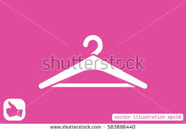 Symbol Coat Rack Coat Rack Symbol Hanger Icon Vector Stock Vector 100 89