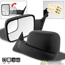 dodge ram power tow mirrors left right 98 01 dodge ram 1500 98 02 2500 3500 flipup