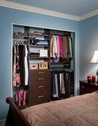 modern reach in guest closet