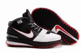 lebron vi. lebron james 6 zoom vi low white black red,men s 6,buy online lebron vi e