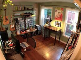 Workspace of the Week All in one home office music studio and art