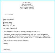 rescheduling an interview reschedule appointment letter 7 sample letters and templates