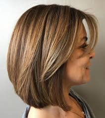 Over A Line Bob Hairstyle